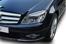 Mercedes W204 Classe C CLC Chrome Projecteur Head Lampe entoure Set