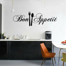 DIY Fork Wall Stickers Removable Home Decal Mural Art Home Decor Kitchen House