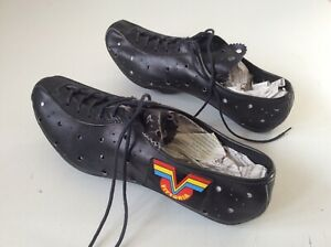 vittoria cycling shoes 42 leather nos!