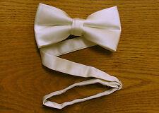Bow Tie Satin Pre Tied Ivory / Candelight Steampunk Tuxedo Wedding Prom Groom