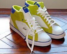 Lacoste Esteban JT Shoes Men's 13 White Linden Green Leather Tennis