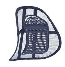 Flujo De Aire Soporte lumbar Cojín para asiento de coche o respaldo de silla