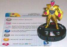 SINESTRO #049 Justice League Trinity War DC HeroClix Rare