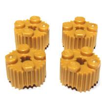 #396 LEGO ® 4x profilo pietra pietra rotonda con profilo 2x2 PERL GOLD 92947 6107194