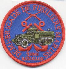 DEMI BRIGADE DE FUSILIERS MARINS 3° BATAILLON 1956 - 1962 / EN ALGERIE 8 cm