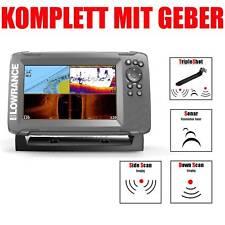 Lowrance Kartenplotter Echolot mit Geber - Hook2 7 TripleShot CHIRP Combo GPS