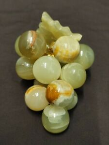 Vintage Green Marble Grapes