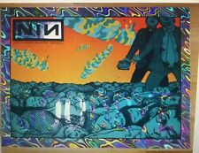 Nine Inch Nails  Chicago  CONCERT POSTER Jermaine Rogers Rainbow Foil A/P