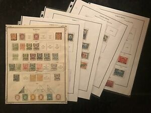 STAMP TURKEY 1870+Mint and Used 10pgs  1368A