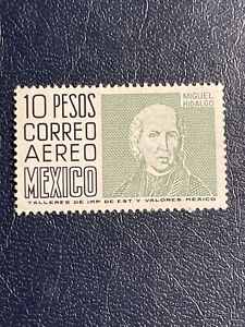 Mexico Stamp Scott# C297 Miguel Hidalgo 1964 Mint Very Lightly Hinged