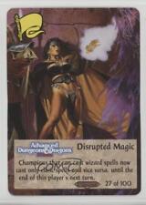 1994 Spellfire: Master the Magic - Ravenloft First Edition #27 Disrupted 2k3