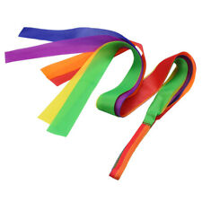 Kids Rainbow Dancing Ribbon Art Gymnastic Ballet Streamer Hand Held Toy