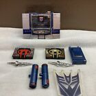 Transformers G1 Reissue Soundwave Reissue Buzzsaw & Laserbeak