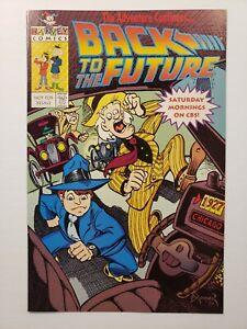 Back to the Future Universal Studios Promo Harvey Comics 1991 DEAL!!!