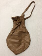 Handmade Genuine Soft Leather Satchel Unisex Murse Travel Day Bag Knapsack