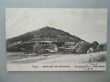 Ansichtskarte Haberacker mit Ochsenstein Krappenfelsen Stambach 1909