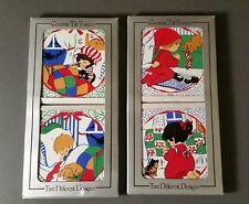 Jasco Christmas Ceramic Trivet Tile sets