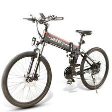 """Vélo électrique 35km/h batterie Lithium 48V 500W VTT pliant - 26"""" Samebike LO26"""