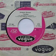 *JACQUES DUTRONC L'Arsene CANADA RARE FRANCE TV Vogue 45 Vinyl