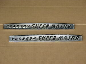 2 METAL FORDSON EMBLEMS FOR PART E1ADDN16605F