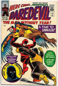 Daredevil #11, Marvel 1965 Stan Lee / Bob Powell, Wallace Wood VFNM