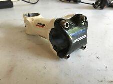 FSA OS-115 Carbon +Alloy Stem 31.8 x 100mm, 6 Degree, White