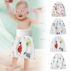 Cartoon Children High Waist Belly-protecting Diaper Skirt Comfortable Shorts ZB