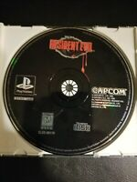 Resident Evil PS1 Playstation 1 Black Label Disc ONLY FREE SHIPPING