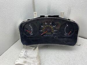 1999-2002 Mitsubishi Mirage cluster speedometer gauges instrument panel black oe