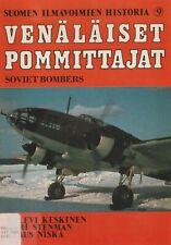Soviet Bombers in Finnish AF Service (1982) Suomen Ilmavoimien Historia No. 9