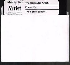 THE ARTIST BY MELODY HALL COMPUTER ARTIST DISK ONLY COMMODORE 64/128 Tested Runs