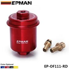 EPMAN Sport Anodized High Flow Turbo Fuel Filter For Civic Integra Accord Crx