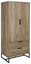 Nomad 2 Door 2 Drawer Wardrobe - Oak Effect