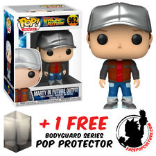 Funko Pop Back To The Future Marty Future Outfit #962 Vinyl Figure + Protector