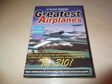 GREATEST AIRPLANES THE 310 ~ Flight Simulator 2002 FS2002 ADD-ON NEW SEALED