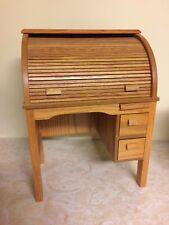 American Girl Doll Kit's School Roll Top Wooden Antique Style Desk Nanea