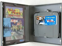 Virtua Racing MD Genesis Sega Mega Drive BOX From Japan