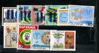 Guyana Stamps # 422-31 XF OG NH Scott Value $56.00