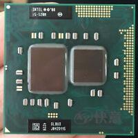 Intel Core i5 520M  Dualcore CPU  2 x 2,4 GHz