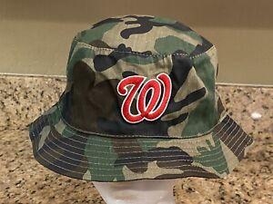 Washington Nationals SGA Floppy Bucket Hat 2008 Stadium Giveaway Camouflage