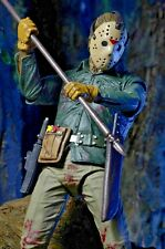 """NECA Friday the 13th Part 6 VI JASON LIVES Voorhees Ultimate 7""""Action Figure New"""