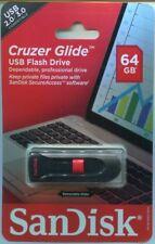 64GB SANDISK CRUZER GLIDE USB 2.0 / 3.0
