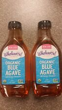 2 x 36 oz Organic Blue Agave Nectar Sweetener Low Glycemic 72 oz Total