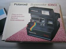 READY TO SHOOT PACKAGE+ FILM INCLUDED Polaroid 635 CL Supercolor Instant camera
