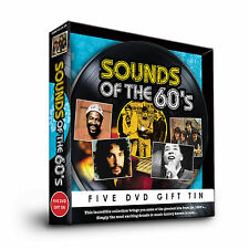 SOUNDS OF THE 60s - FIVE DVD GIFT TIN - CILLA BLACK THE MOVE LULU & MANY MORE