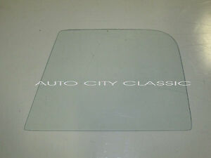 Door Glass Clear 1939 - 1942, 1946 - 1947 Dodge Pickup and Panel Truck