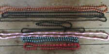 8 Strings of Beads. Various Colours/Lengths.