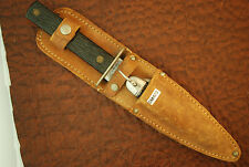 VINTAGE 1960's IMPERIAL PROV RI USA  FIXED BLADE SCOUT COMBO SET KNIFE (SM423)