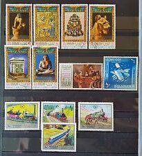 Duzik: Sharjah Mixed Selected Stamps (No043)*