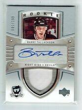 05-06 UD The Cup  Barry Tallackson  1/199  First Card  Auto  Patch  Rookie